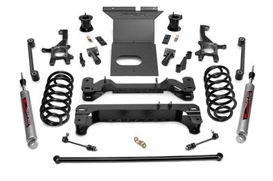 "2007-2009 Toyota FJ Cruiser 4WD 6"" Rough Country Suspension Lift Kit w/Performance 2.2 Series Shocks - ONLY $770* to INSTALL"