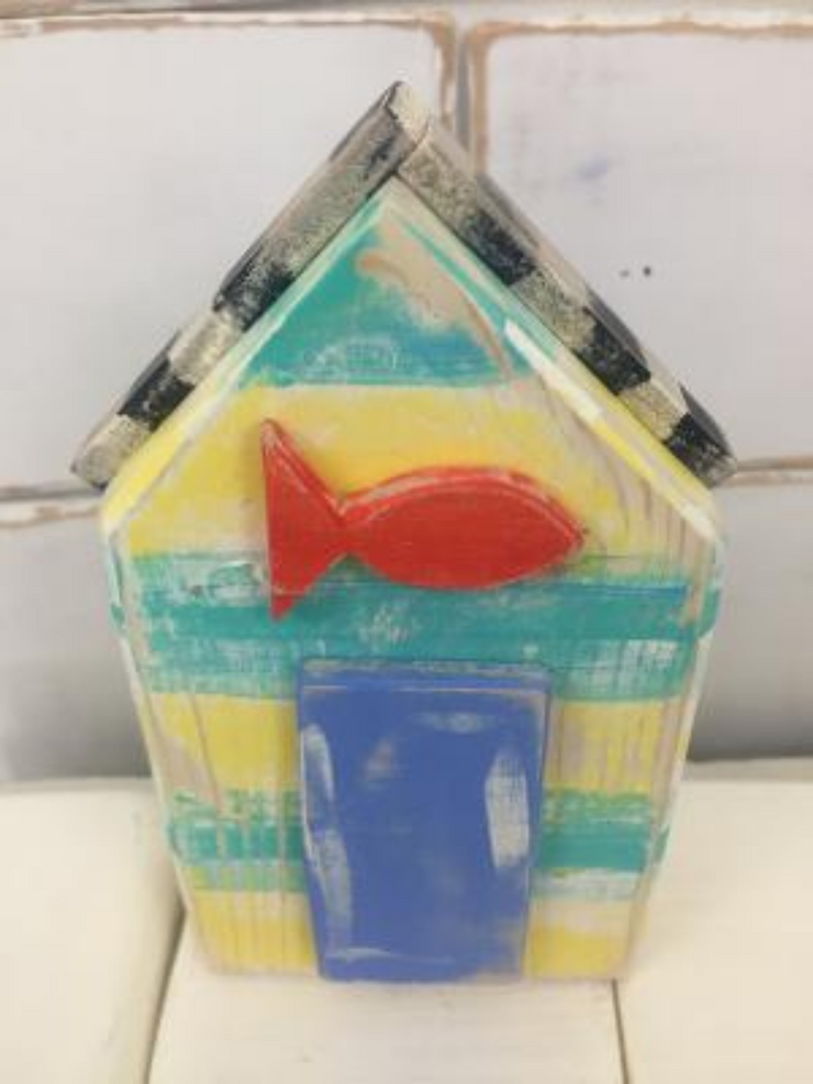 Little House - Gold Fish by Binki Creations