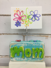 Mom Photo Block - Binki Creations by Mary Beth