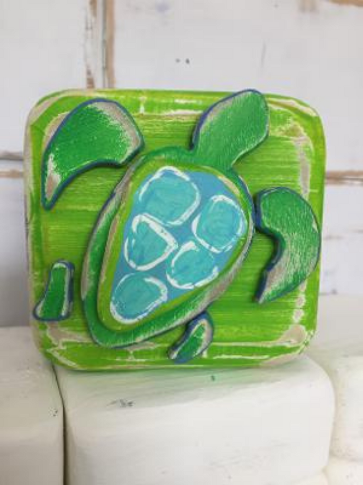 Sea Turtle Block by Binki Creations