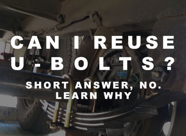 The Biggest U-Bolt Question We Get...