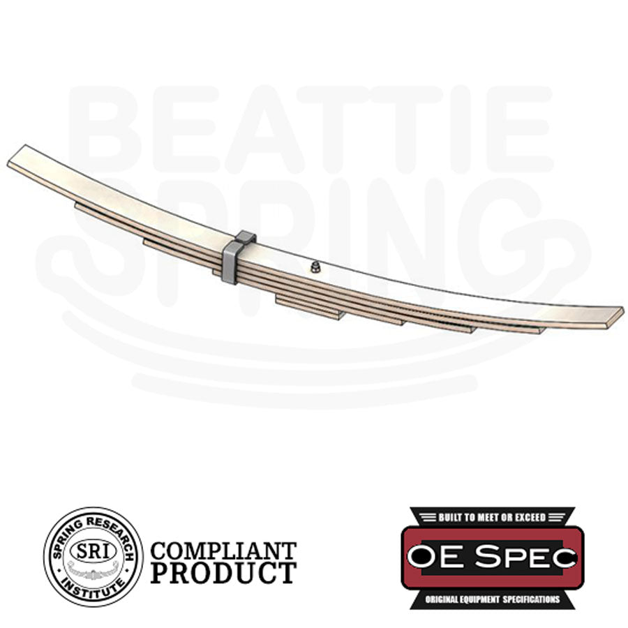 Copy of Chevy GMC - Sierra Silverado 3500 - Helper Leaf Spring (Rear, 4 Leaf)