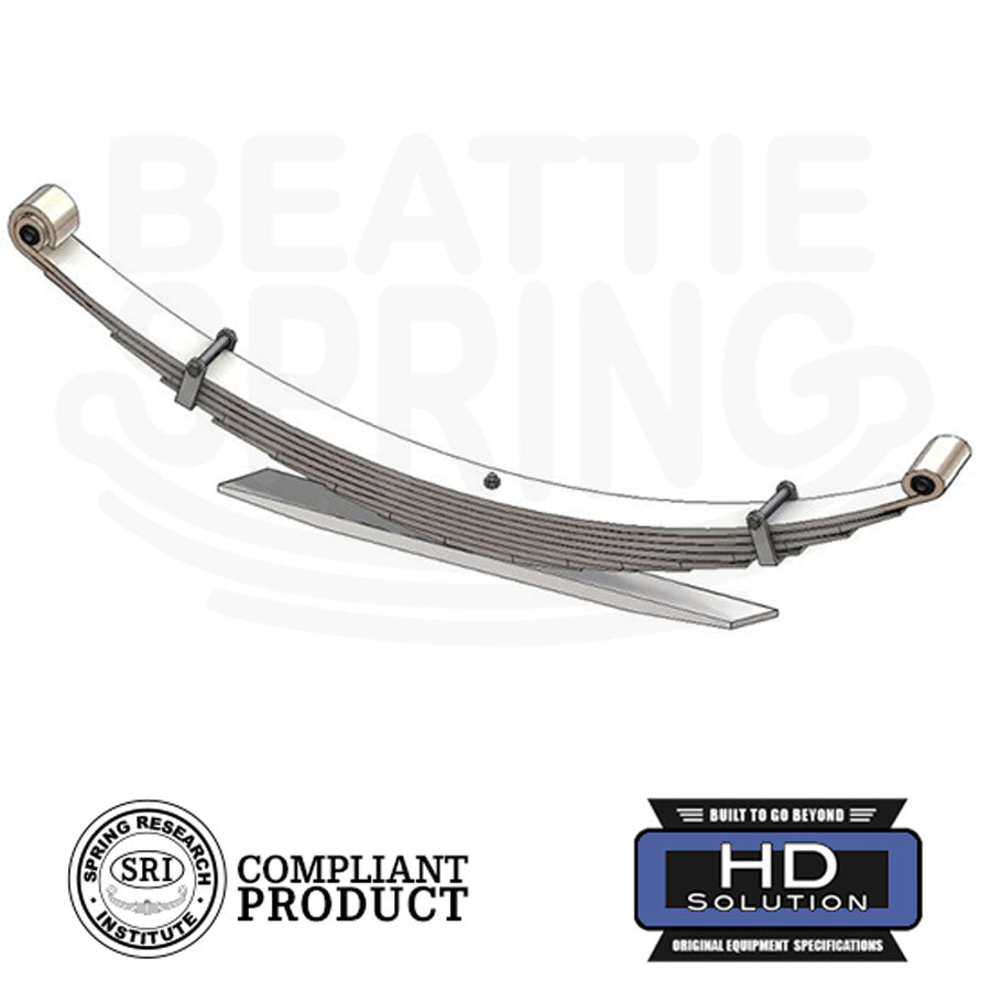 Chevy GMC - P30 P3500 Heavy Duty Leaf Spring (Main, 8/1)