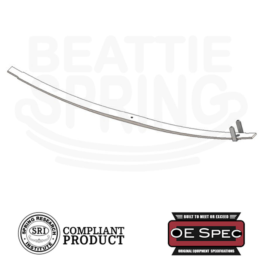Chevy GMC - P30 P3500 Full Taper Extra Rear Single Leaf