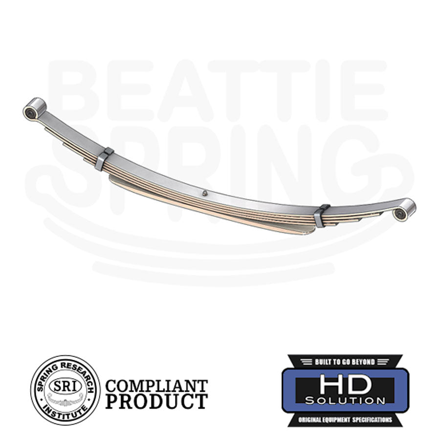 Dodge - Ram 1500/2500 4WD Heavy Duty Leaf Spring (Rear, 5 Leaves)