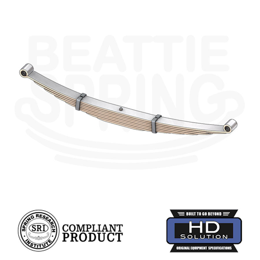 Ram 2500/3500 2WD 4WD - Heavy Duty Leaf Spring (Rear, 8 Leaves)