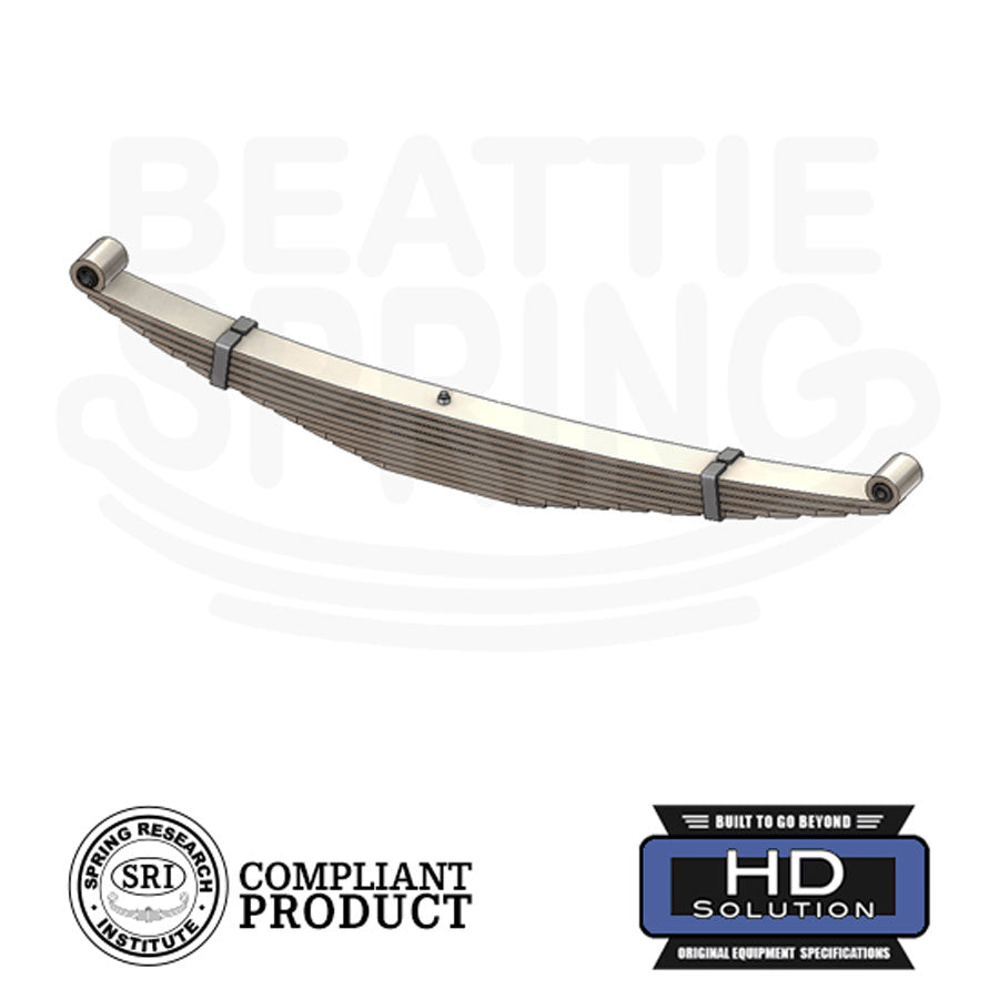 Ford - E-250 E-350 Econoline Heavy Duty - Leaf Spring (Rear, 10 Leaves)