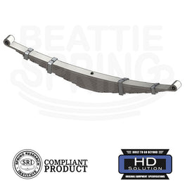 Ford - E-250 E-350 Econoline - Heavy Duty Leaf Spring (Rear, 10 Leaves)