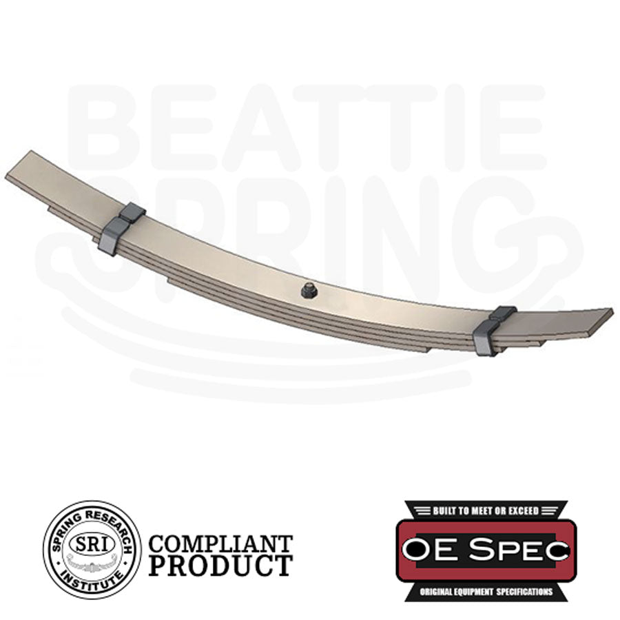 Ford - F-350 Dual Rear Wheel - Helper Leaf Spring (Rear, 4 Leaves)