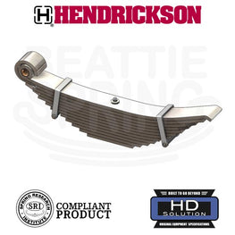Hendrickson Walking Beam Suspension Leaf Spring 12 Leaf Heavy Duty Version