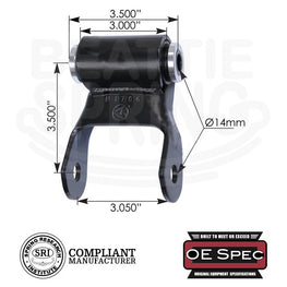 Dodge - Durango - Rear Leaf Spring Shackle