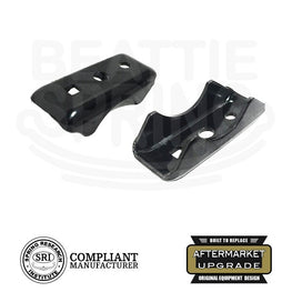 Leaf Spring Axle Seat Perch Mount (Pair)