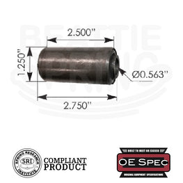 Chevy GMC - Vans - Rear Leaf Spring Bushings (RB120)