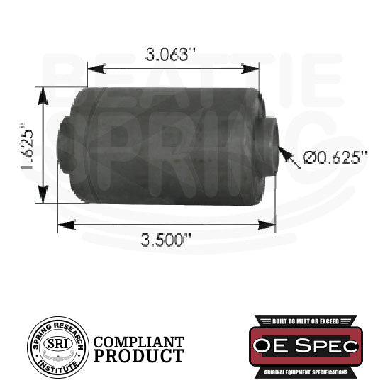 Ford - Trucks/Bronco - Rear Leaf Spring Bushing (RB158)