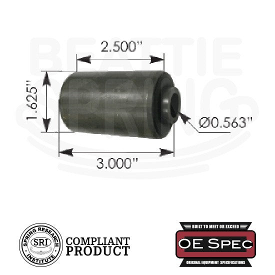 Ford Mercury Mazda - Rear Leaf Spring Bushings (RB159)