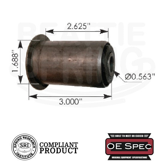 Chevy GMC - Silverado/Sierra/Savanna/Blazer/Tahoe/Yukon - Leaf Spring Shackle Bushings (RB172)