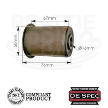 Chevy GMC - Rear Leaf Spring Bushings (RB250)