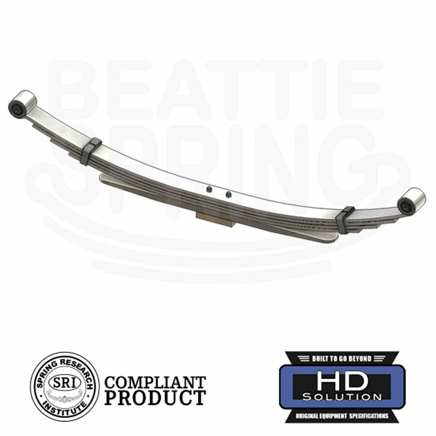 Dodge - Ram 2500/3500 4WD - Leaf Spring (Rear, 5 Leaves / 1Pad)