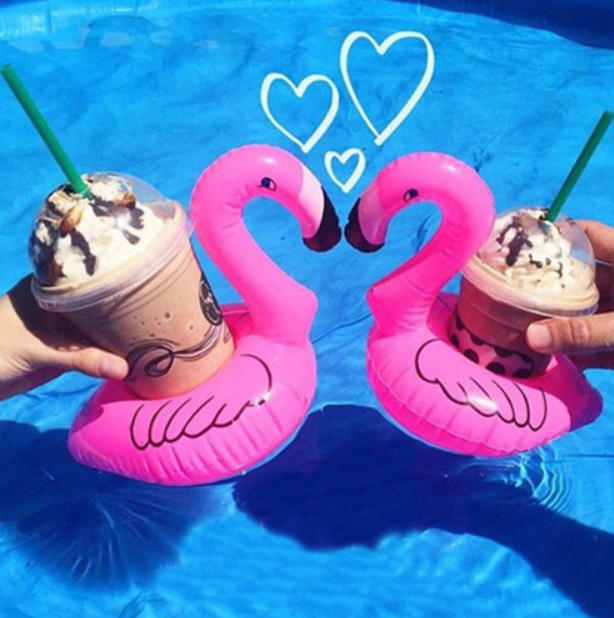 ... Inflatable Flamingo Drink Holder   1 Piece