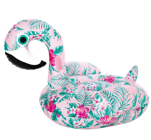 Colorful Floral Swan Inflatable Float [Limited Edition]