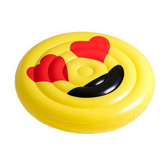 Giant Hearteyes Emoji Pool Float 150cm