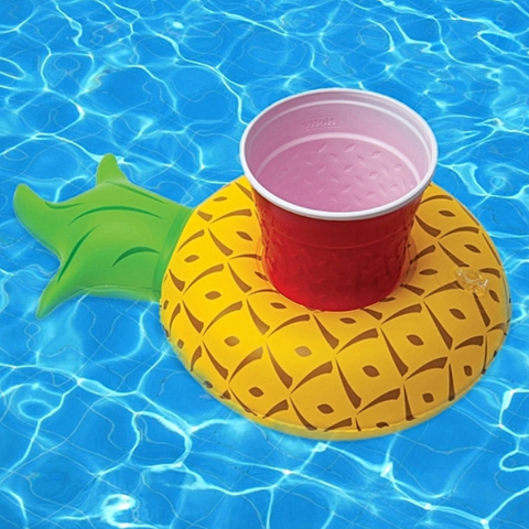 Inflatable Pineapple Drink Holder - 1 Piece