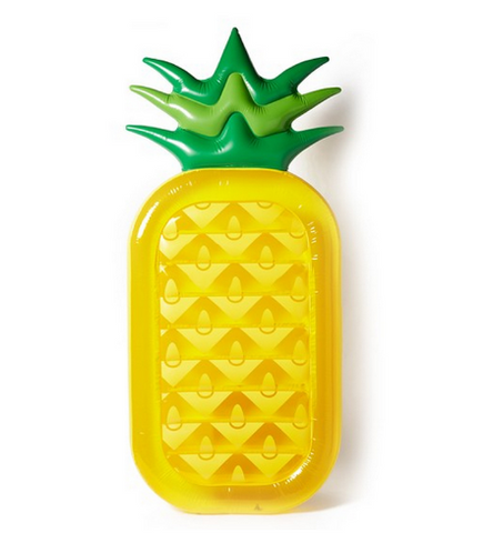 Pineapple Inflatable Pool Floats for Adults 180x90x20cm