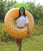 Image of Inflatable Swim Ring Pineapple
