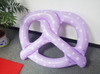 Image of Inflatable Pretzel Bread Pool Float - Purple