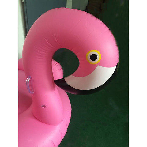 Giant Inflatable Flamingo Pool Float Pink Ride-On 150cm/60inch