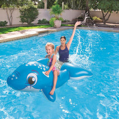 157x89cm Kids Inflatable Whale Pool Float