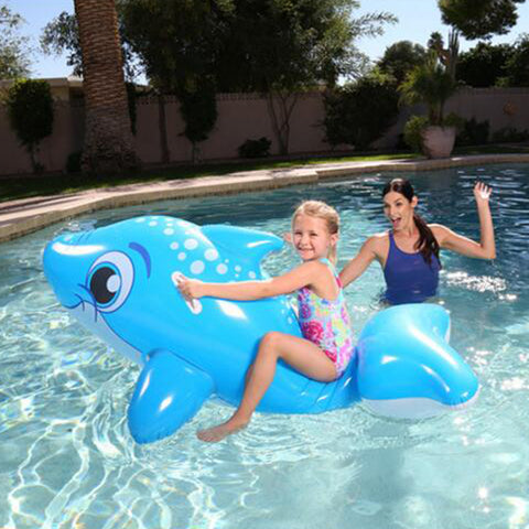 Kids Inflatable Whale Pool Float 157x89cm
