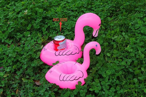 Inflatable Flamingo Drink Holder - 1 Piece
