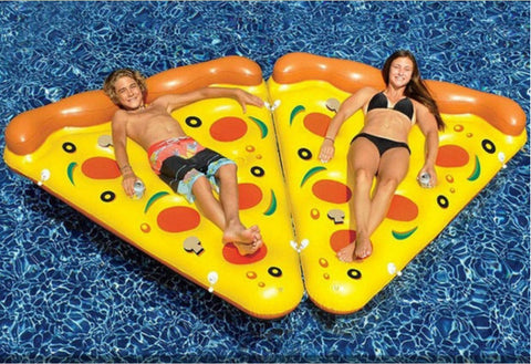 Inflatable Giant Pizza Slice Pool Float