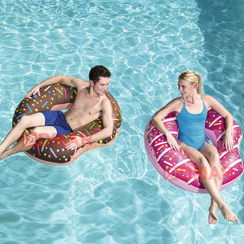 Inflatable Chocolate Donut Float 107cm/42inch