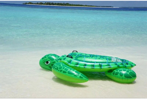 Summer Turtle Handle Mount Inflatable Float