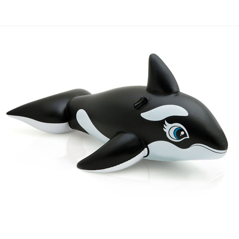 Cute Black Whale Summer Float