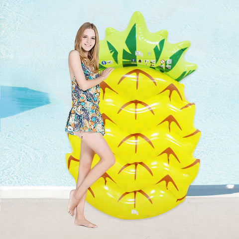 Inflatable Pineapple Pool Float Mattress 145cm/57inch