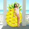 Image of Inflatable Pineapple Pool Float Mattress 145cm/57inch
