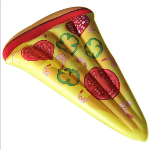 Inflatable Giant Pepperoni Pizza Slice Pool Float