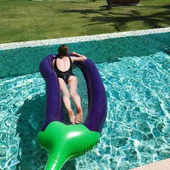 Inflatable Mat Giant Eggplant 250x100cm