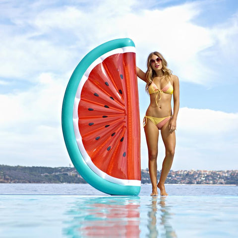 2018 Giant Inflatable Watermelon Pool Float Mattress