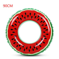 Watermelon Inflatable Swimming Ring Pool Float 90cm