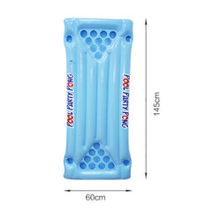 24 Cups Holder Inflatable Beer Pong Table Float