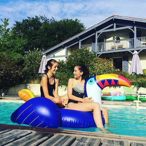 Giant Inflatable Toucan Pool Float 200cm