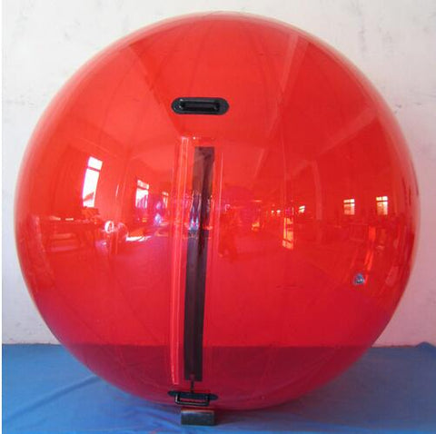 Inflatable Red Water Walking Ball 2.5m