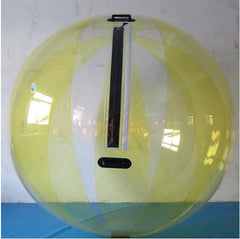 Inflatable Yellow Water Walking Ball 2.5m
