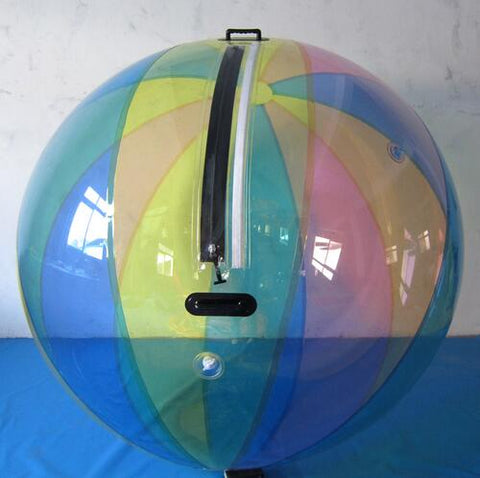 Inflatable Multicolored Water Walking Ball 2.5m