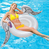 Image of White Angel Wing Inflatable Pool Float