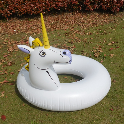Inflatable Royal Unicorn Swimming Ring 110cm